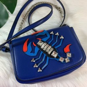 Zara Lobster Jewel Small Crossbody Purse